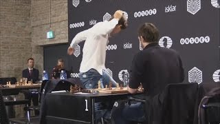 ♚ EXTREMELY Angry/ Magnus Carlsen After Losing His Game
