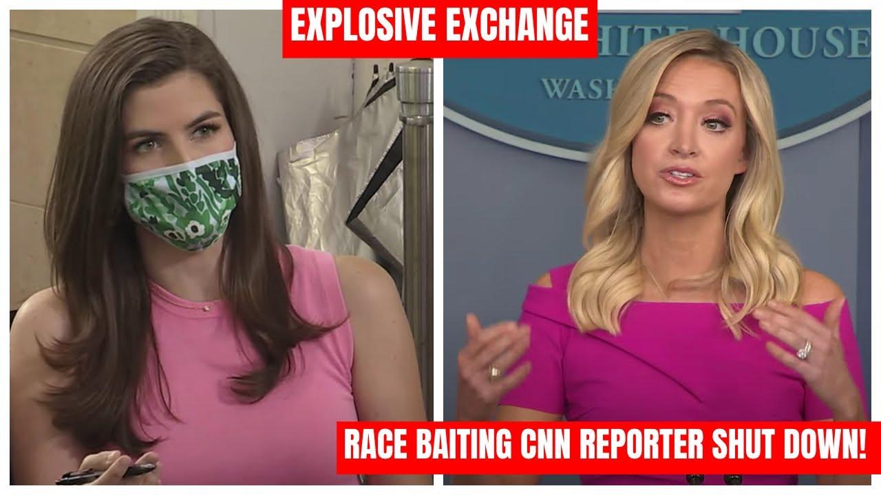 RACE BAITING CNN REPORTER SHUT DOWN: Press Secretary Kayleigh McEnany EXPLOSIVE Press Briefing
