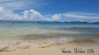 Download Video Indah Ombak Pantai dan Laut Raja Ampat MP3 3GP MP4