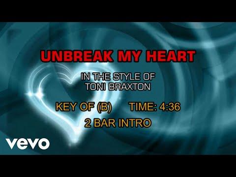 Toni Braxton - UnBreak My Heart (Karaoke)