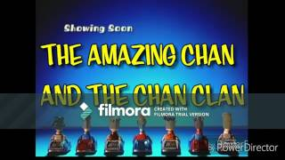 "(FAN-MADE) Boomerang: The Amazing Chan and the Chan Clan ""Now Showing"" Bumper"