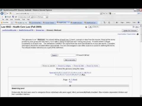 Moodle Open Source Course Management