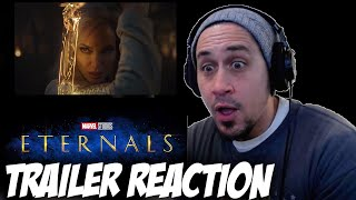 Eternals Teaser Trailer | MARVEL STUDIOS CELEBRATES THE MOVIES | REACTION