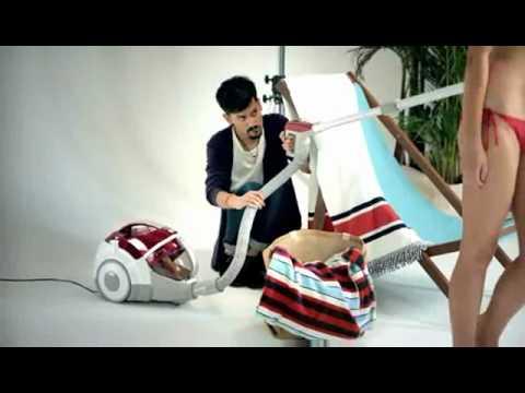 publicit aspirateur lg le mannequin youtube. Black Bedroom Furniture Sets. Home Design Ideas