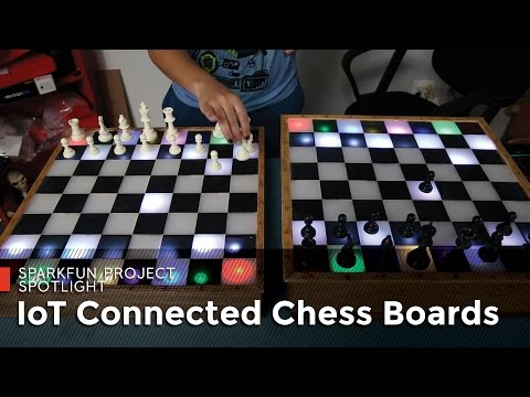 IoT Connected Chess Boards from SparkFun!