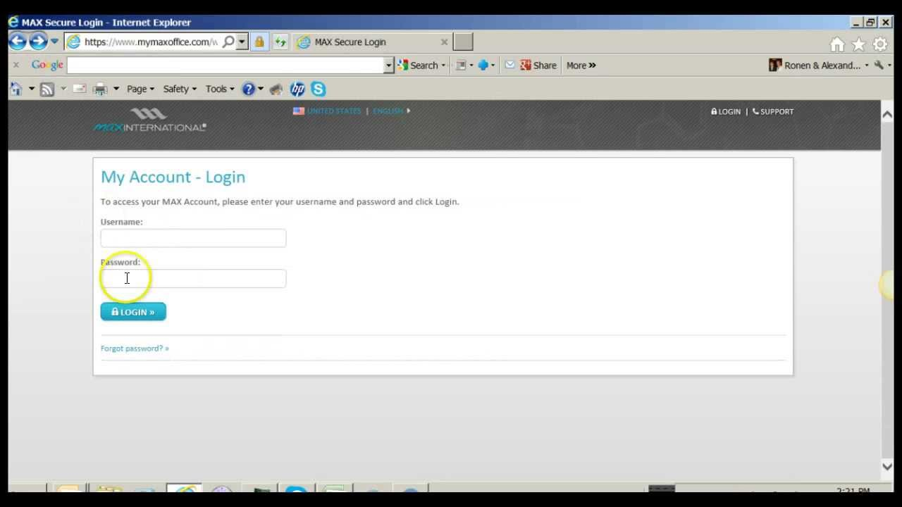 virtual office tools. How To Log Into Max International Virtual Office Back YouTube 1 Tools