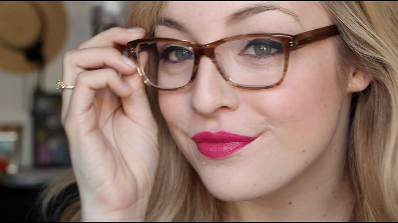 quand on porte des lunettes + Collection des lunettes!  YouTube