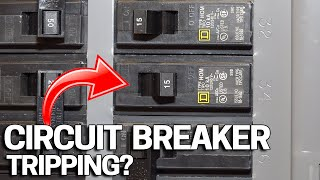How To Replace oŗ Change a Circuit Breaker in your Electrical Panel & Why it's Tripping