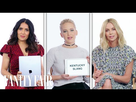 Jennifer Lawrence, Margot Robbie & More Teach Drinking Slang From Around The World | Vanity Fair