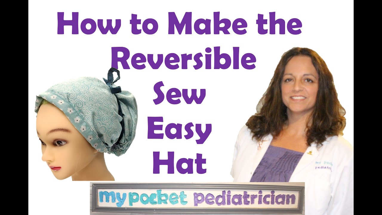 A Quick Review of the Sew Easy Scrub Hat