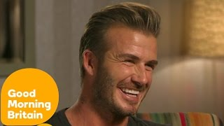 David Beckham Interview With Susanna Reid | Good Morning Britain