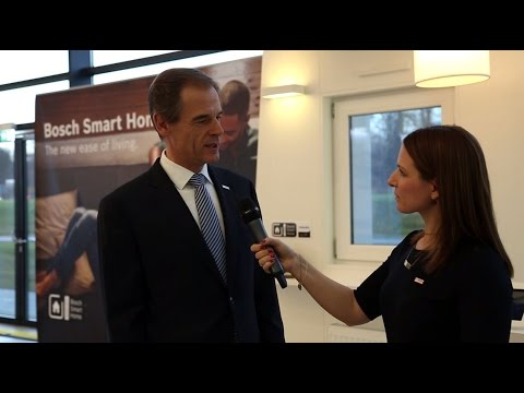 Interview with Bosch CEO Volkmar Denner about Bosch's success in 2015 and strategy for 2016