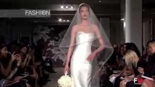 """CAROLINA HERRERA"" Spring 2015 Bridal Collection New York by Fashion Channel"