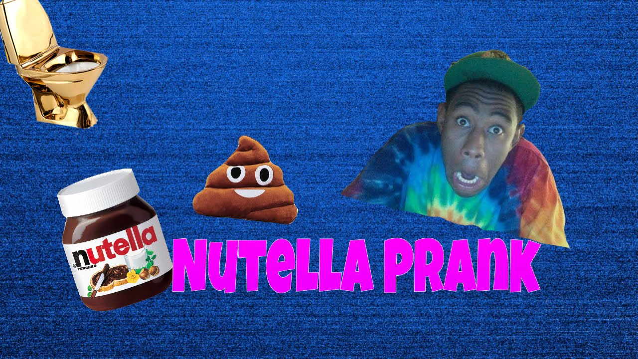 Nutella Prank - Bathroom Prank Gone Wrong! - YouTube