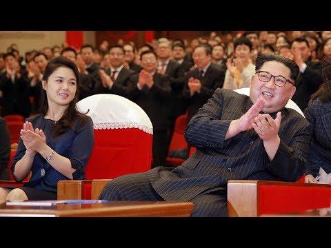 Kim Jong Un watches modern Chinese ballet