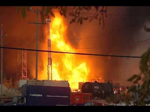 Winnipeg Fuel Plant Fire Causes $15M Damage