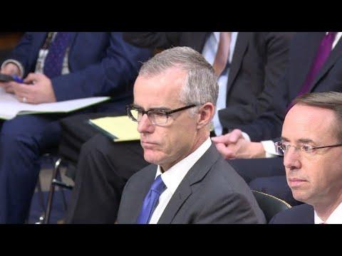 Ex-vice-diretor do FBI Andrew McCabe é demitido