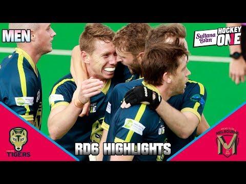 Tassie Tigers Vs Hockey Club Melbourne | Sultana Bran Hockey One Men 2019, Round 6 Highlights