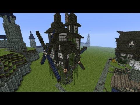 Minecraft: Windmill tutorial build [season 2 world]