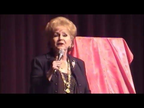Debbie Reynolds at Singin in the Rain in Omaha, Nov, 2010