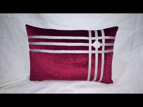 طريقة خياطة مخدة ديكور جديد 2018----How to sew a pillow
