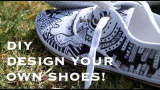Diy- Canvas Shoes