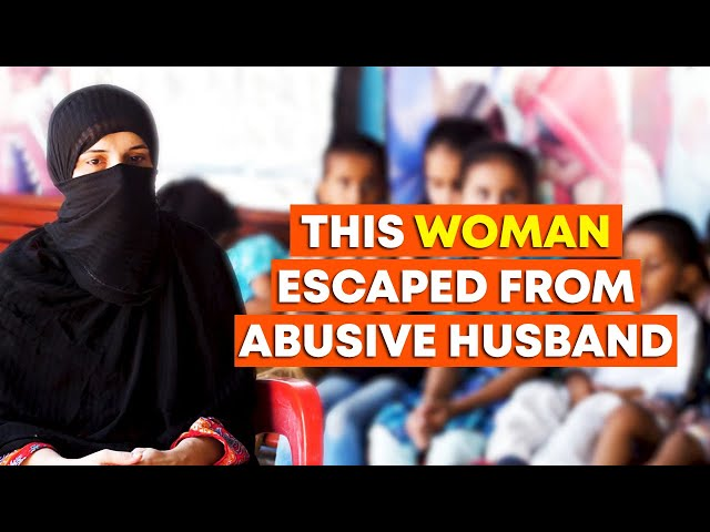 This Woman Escaped From Abusive Husband
