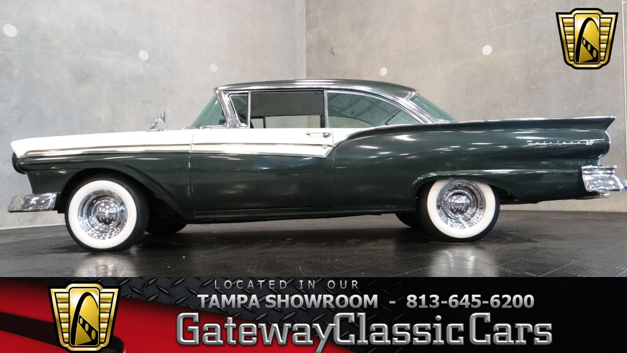 1957 ford fairlane 500 gateway classic cars of tampa 381 youtube