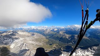 Paragliding across the alps - Vol Biv - Summer 2020