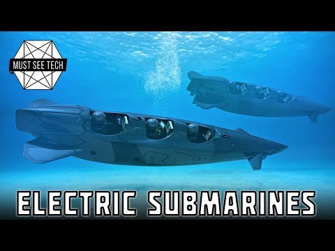 5 Personal Electric Submarines for Quiet Underwater Exploration and Deep Sea Adventures
