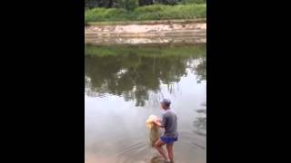 Sembawang Park fishing man