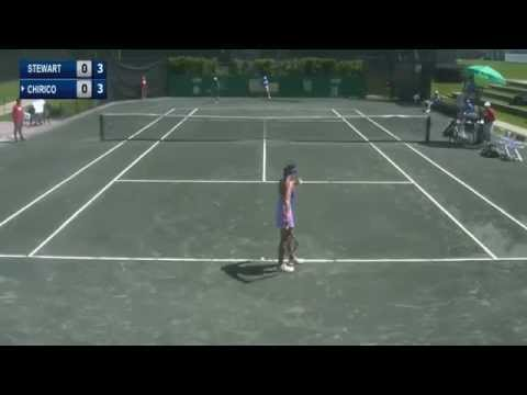 Louisa Chirico fail at the net