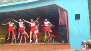 Енисей 4 отряд танец