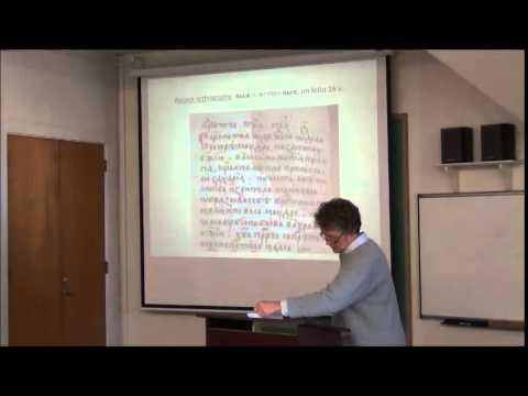 "Brownbag: ""16th c. South Slav Manuscript in the Ottoman Empire,"" Gwyn Bourlakov (History)"