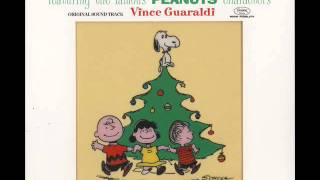 A Christmas With Charlie Brown Vince Guaraldi Trio Linus And Lucy