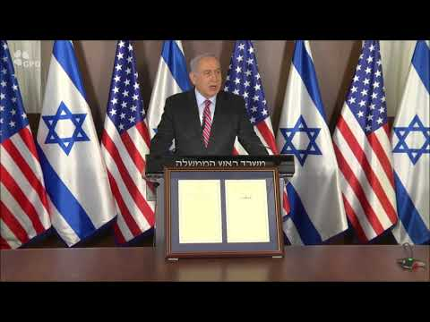 PM Netanyahu At Cabinet Meeting On 3rd Anniversary Of US Recognition Of Jerusalem As Israels Capital