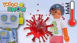 Mit Playmobil erklärt: Was ist das Corona-Virus?   Zusammen mehr Spaß   TOGGO SHOW