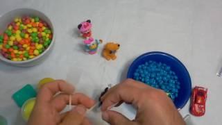 Disney Mickey Minnie Cars Clubhouse Surpriise swedish fishing skittles daisy pluto