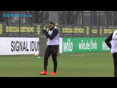 BVB-Training am 10. Februar mit Akanji und Balerdi