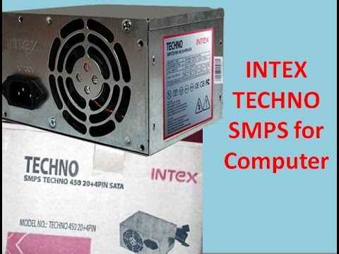 Unboxing Intex SMPS TECHNO for Computer | Hindi - YouTube