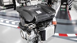 Mercedes-AMG M139 four-cylinder engine with 416 horsepower