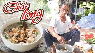 Ông Thọ Làm Món Cháo Lòng Nóng Hổi Ngon Ngất Ngây   Pig's Offal Congee