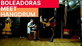 Boleadoras meet Hangdrum | Studio Sessions | Sarah Louis-Jean & Olivier Aradan
