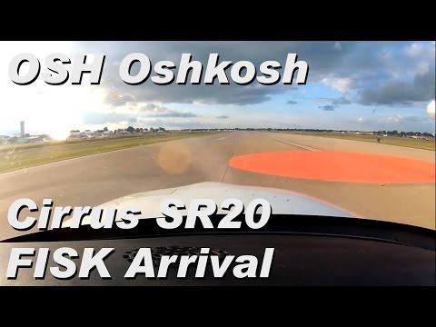 Oshkosh AirVenture. OSH Fisk Arrival 2014. Cirrus SR20. ATC