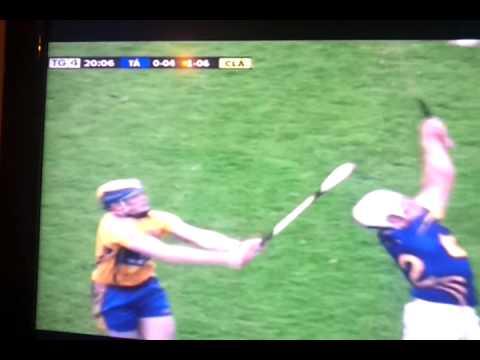 Seadna Morey and Niall O'Meara incident