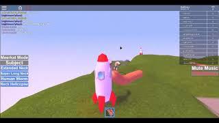 Wiener Rocket *Roblox Human Giraffe