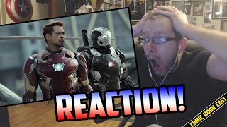 Captain America Civil War Trailer REACTION