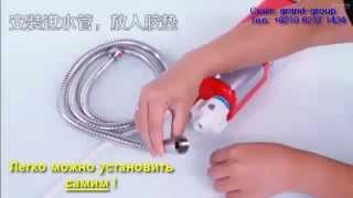видео Проточно накопительный водонагреватель из пластиковых бутылок