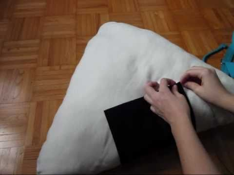 how to make a onigiri pillow comment faire un coussin onigiri youtube. Black Bedroom Furniture Sets. Home Design Ideas