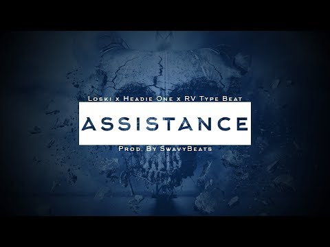 Loski X Headie One X RV (Drill/Trap) Type Beat - ASSISTANCE (Prod.By SwavyBeats)